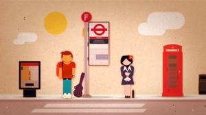 Match.com «Bus stop»