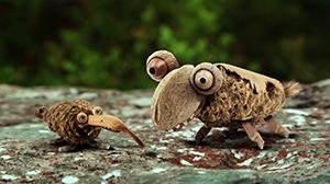 """""""Deux escargots s'en vont"""""""